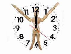 奥様一押し!中年太り解消、体内時計と時間栄養学!