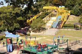 【向山中央公園】巨大ジャングルジムと合体した滑り台どこ?あり地獄みたいに出れない!